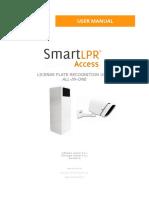 SmartLPRAccess UserManual En
