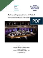 Tesis Sobre Festivales de Orquestas Juveniles