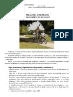 Comunicat Prevenire Biciclisti 02.08.2017