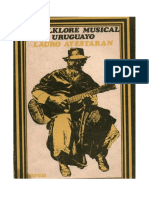 EL FOLKLORE Musical Uruguayo Lauro Ayestarán