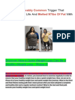 Document Sans TitreThe Unbelievably Common Trigger That Changed My Life And Melted 97lbs Of Fat With Ease