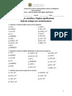 F.1 Otra evidencia - Hoja de trabajo sobre dígitos significativos