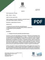 Acta y Asistencia COLIA Junio 2018