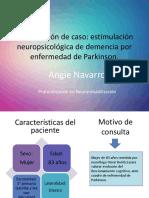 Programa de estimulación para Demencia por enfermedad de Parkinson