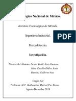 Investigacion U4 Mercadotecnia