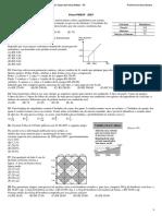 Questões  de Matemática Soldado Vunesp 2007 a 2019