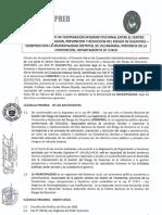 Convenio - Municipalidad Distrital de Vilcabamba