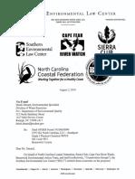 SELC, et. all comments on NPDES permit