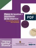Las 40 Preguntas Frecuentes de los Planes de Igualdad y Conciliación en las Empresas