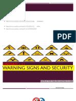 Unidad – 11 Warning Signs