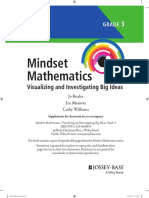 Mindset Mathematics 3 Teacher Supplement