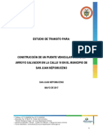 6.0 Estudio Transito Tabla de Conteo de Vehiculos Puente Salvador