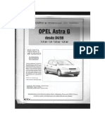Manual Opel Astra Club
