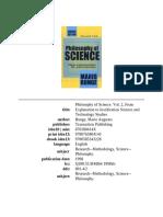 Mario Bunge -- Philosophy of Science (II).pdf