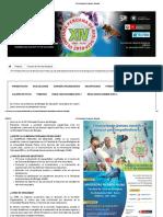 XIII Olimpiada Peruana de Biología