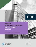 Preqin Quarterly Update Private Debt Q3 2019