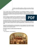 Etapas de La Independecia de Chile Patria Vieja-Reconquista-Patria Nueva