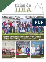 Noticias Cholula del 18 de noviembre