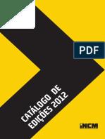 Catalogo Edicoes 2012