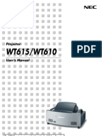Projector Manual 2818