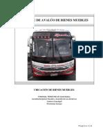Informe bus reina camino