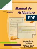 Manual de Asignatura Bases de Datos
