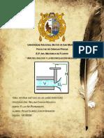 Análisis y Calculo Del Golpe de Ariete en Un Sistema de Distribución de Agua