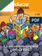 2018- Revista Educar en Córdoba-nro35