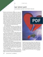 Psychologie Heute 2004 - 09 - Seite 016 - Liebeskummer Lohnt Sich