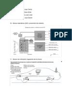 Diagramas de sensores en el automóvil