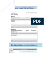 Time Materials Invoice FR
