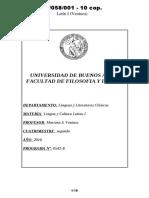 05058001 Programa 2016 - Latín I (Ventura)