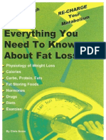 Everything You Wanted to Know About Fat Loss - Chris Aceto