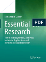 Sonia Malik - Essential Oil Research_ Trends in Biosynthesis, Analytics, Industrial Applications and Biotechnological Production-Springer International Publishing (2019)