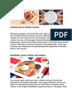 Traditonal English Food / kalbų diena