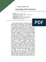 RUBEL. The Dictatorship of the Proletariat.doc