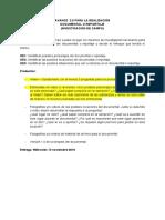 Modelo Investigación Para Documental-reportaje