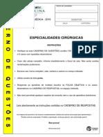 FMUSP19 Especialidades Cirurgicas Prova