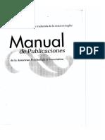 APA 6ta Edición 2010