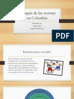 Jerarquía de Las Normas en Colombia