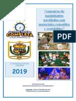 Programa de Concurso de Nacimiento 2019