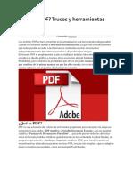 Para q Sirve PDF