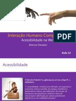 Aula 12- Acessibilidade Na Web
