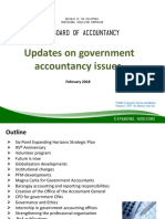 Updates on Government Accountancy Issues