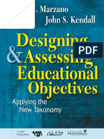 Kendall, John S._ Marzano, Robert J - Designing and Assessing Educational Objectives_ Applying the New Taxonomy (2008, Corwin Press)