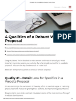 4 Qualities of a Robust Website Proposal _ Jordan Crown