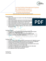 Syllabus & Timeline Training - FSSC 22000 version 5 Awareness & Internal Audit - Jakarta 8-9 July 2019.pdf