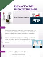 TERMINACIÓN DEL CONTRATO DE TRABAJO.pptx