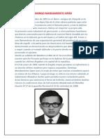 Biografia de Personajes Ilustres Del Peru