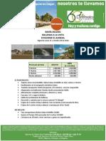Bahía Solano Plan Ballenas a La Vista
